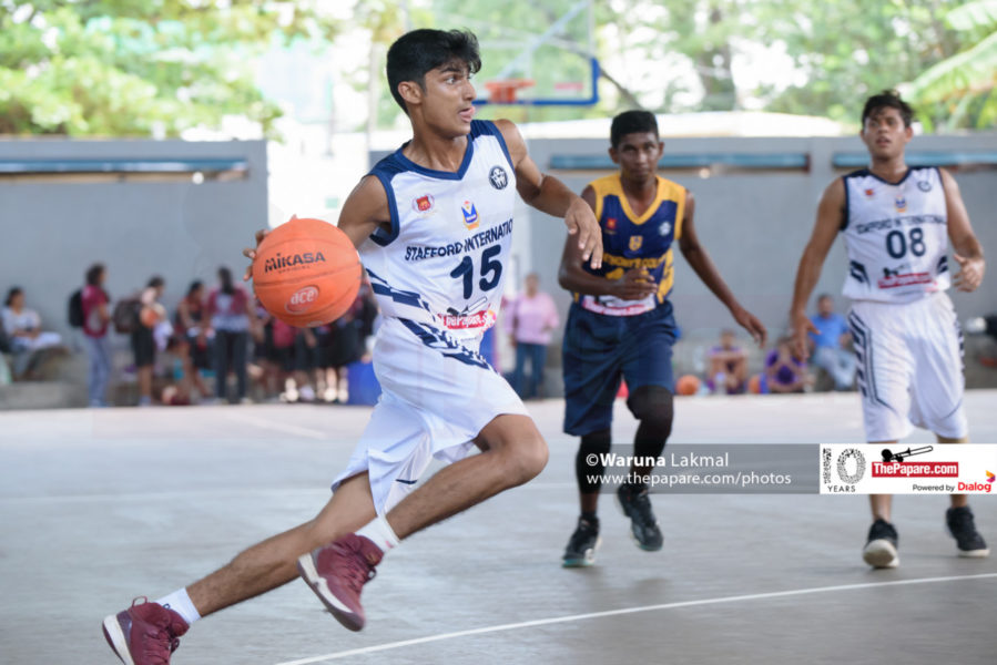 Stafford International School excels in Basketball